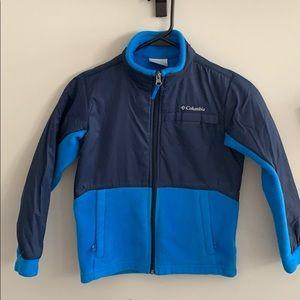 Boys Columbia Zip Up Jacket sz S (8)